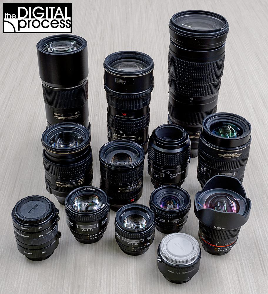 learn about camera lenses a guide rh thedigitalprocess com Nikon Lens Comparison Chart Nikon Lens Cap
